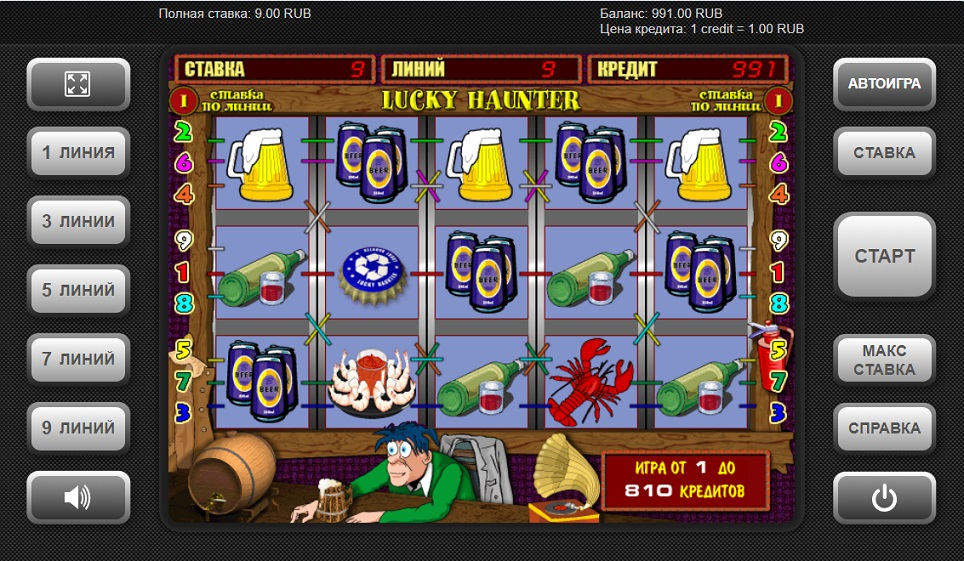 Игровой автомат lucky haunter - обзор особенностей слота