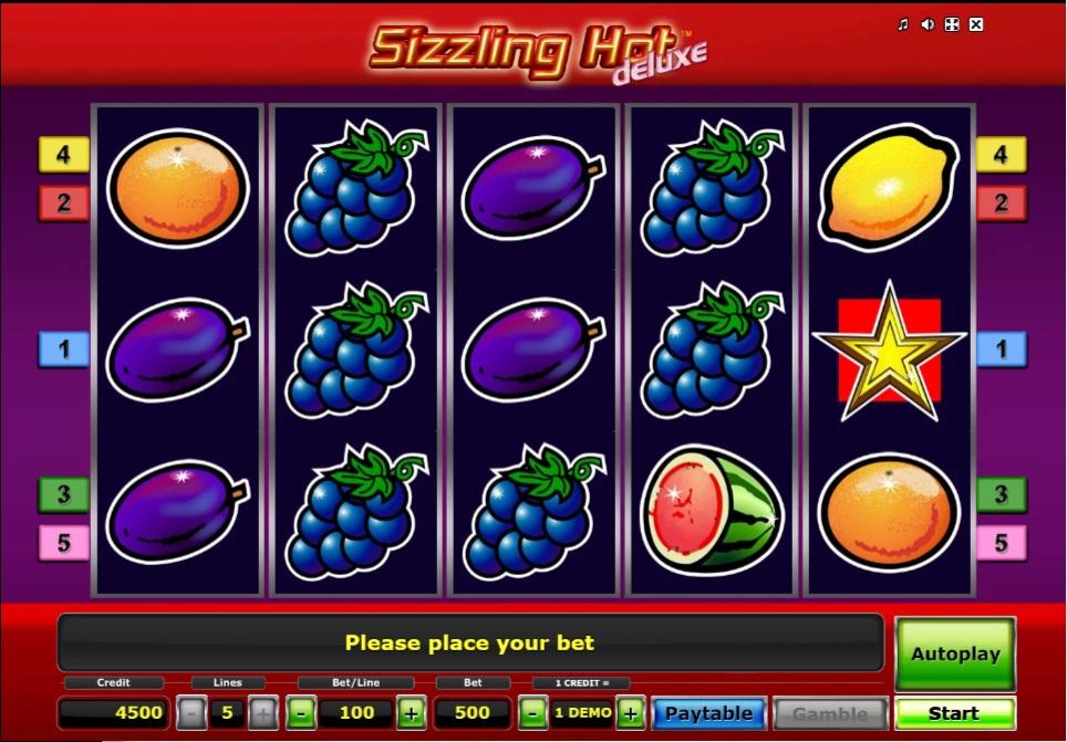 Игровой автомат Sizzling Hot Deluxe Компот: описание, как поиграть бесплатно и на деньги